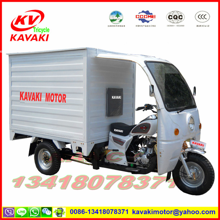 KAVAKI MOTOR closed cabin adult electric tricycle 3 wheel motorcycle /mobility scooter