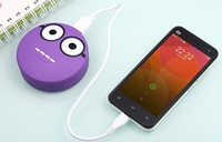 power bank lovy with faces for mobile phone