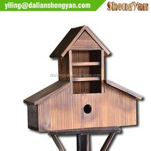 2014 New Design Cedar Tower Bird House