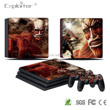 Factory diy custom logo create your own games decal sticker for ps4 pro sticker