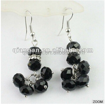 Wholesale handmade Crystal avenue beaded Earrings