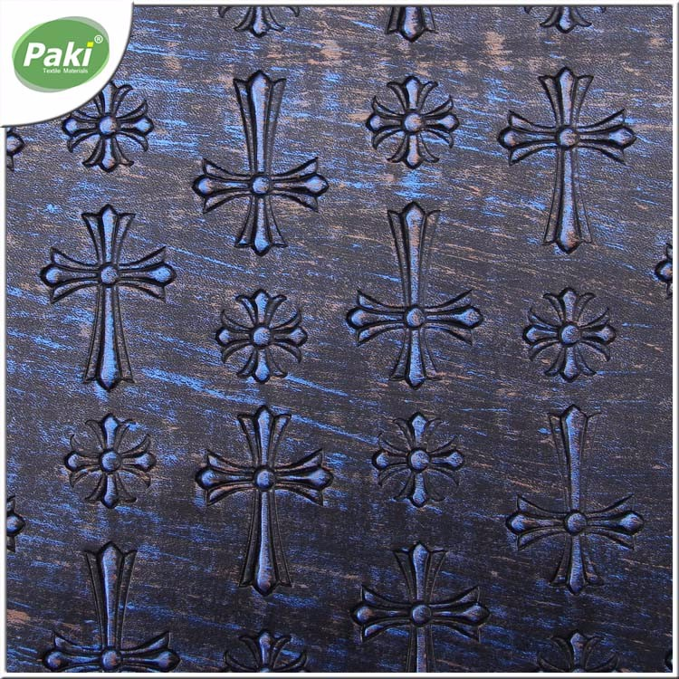 1.1mm PU synthetic metallised leather for decoration