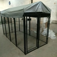 China Wholesale iron welded wire mesh or chain link fence dog kennel