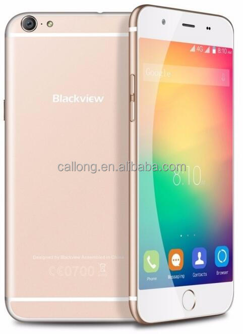 Original Blackview Ultra Plus 5.5'' Smart phone MTK6735 Quad Core 2GB+16GB 13MP CAM Dual SIM 4G LTE Mobile Phone