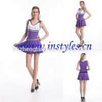 Halloween cosplay 8036-3 hot sale School Girls Cheerleader Uniform Full Outfits Fancy Dress Costume plus size sexy women
