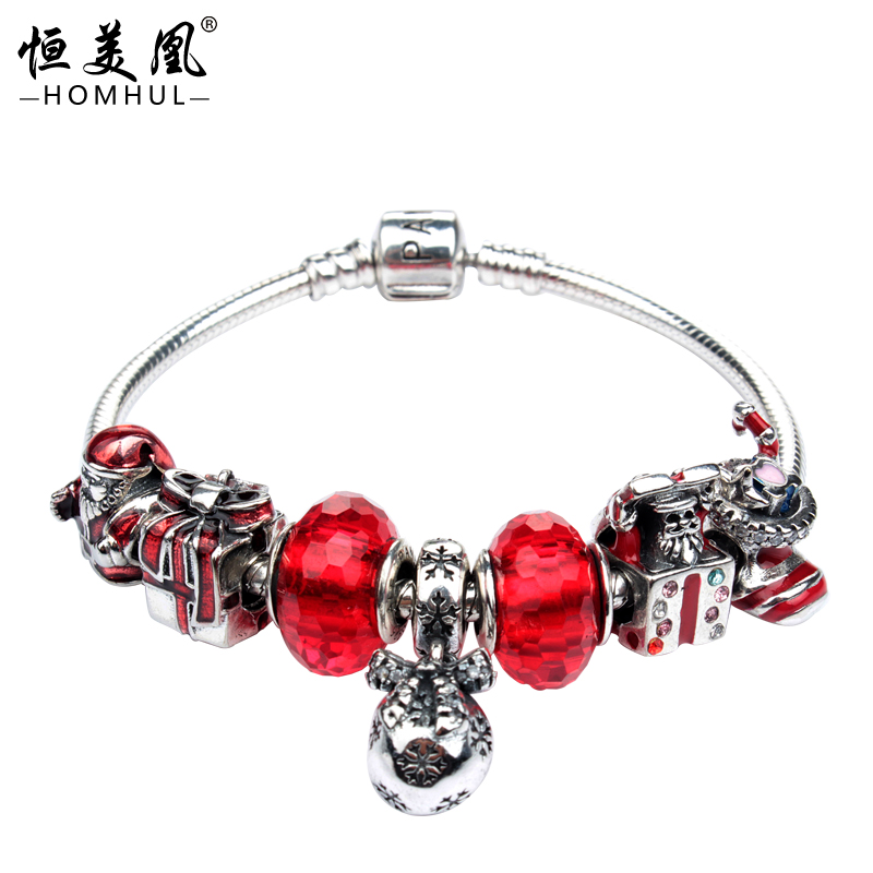 Factory wholsale 925 silver bracelet DIY design