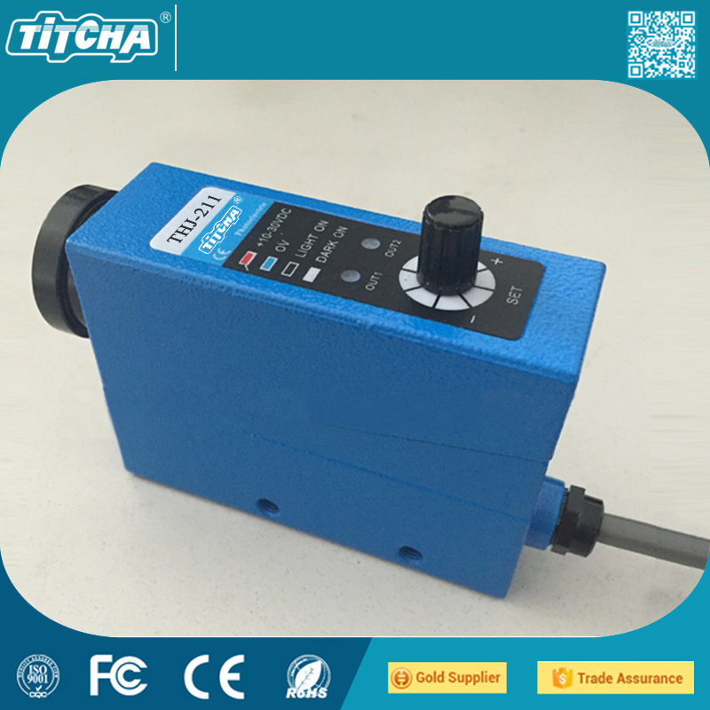 Genuine color sensor THJ-211 color sensor switch bag machine correction error photoelectric eye