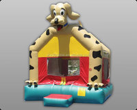 New product best quality inflatable scooby doo bounce house for childrens sports