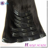 Top quality hair extensions double weft Remy clip in for naturally curly hair