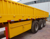 china made cargo semi trailer/cargo box side open/van side panels for trailer