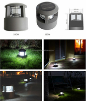 Easy Removable LED Die-casting Aluminum Solar Lawn Lamp
