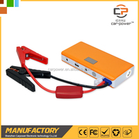 Intelligent display lithium ion battery jump starter apply to start 5000cc gasoline and 3000cc diesel vehicle