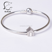 Unique inexpensive silver european diy bracelets charms