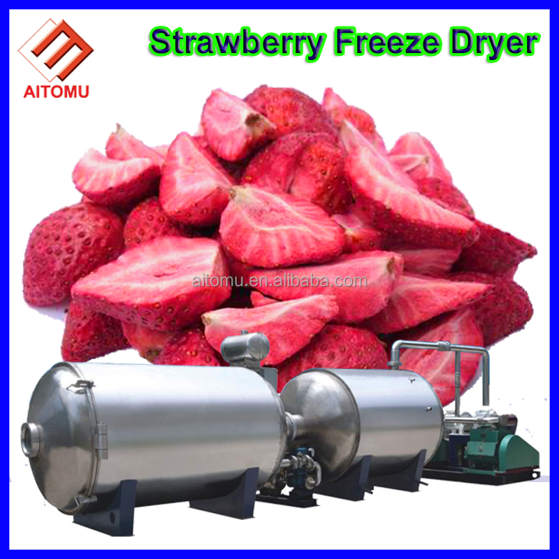 Food Freeze Dryer Machine For Vegetables, Fruits, Meet, Fish, Milk