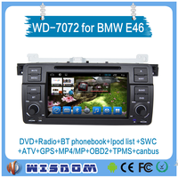 WISDOM FACTORY car multimedia for bmw e46 android car dvd player for bmw e46 gps navigation