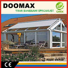 #DX710 Retractable Metal Roof Pergola Awning systems