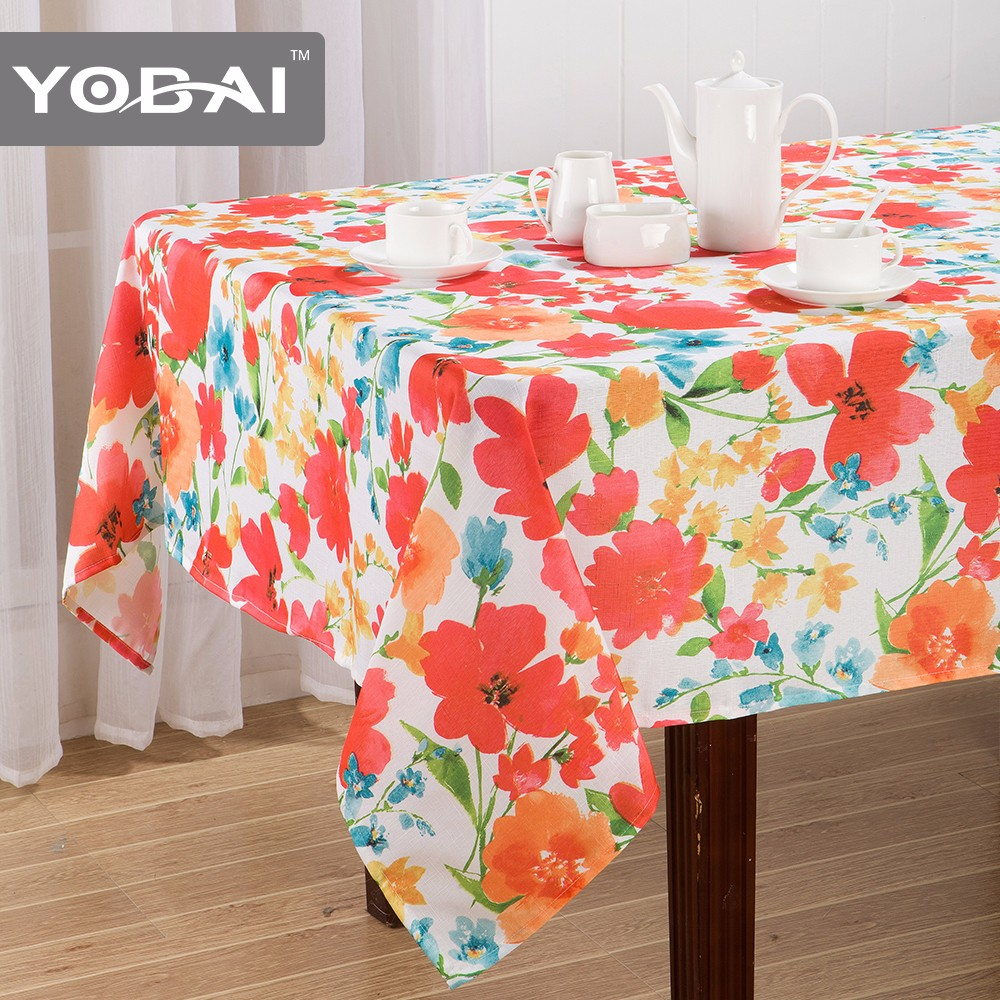 100polyester Tablecloth Underlay Printed Polyester Table Cloth
