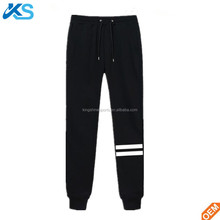 Fashion tracksuit cotton fleece custom printed sweatpants tapered jogger pants