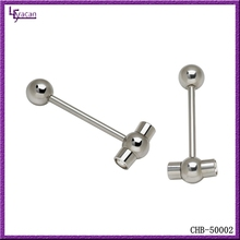 Wholesale 316L Surgical Steel Hammer Shape Vibrating Tongue Piercing