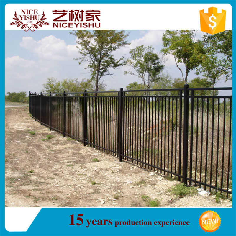 Alibaba China Yishu Manufacturer original solid Aluminium Fence/66.2016 best price easily assembled aluminum fence/Top Seller Qu
