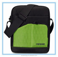 "Muiti-purpose waterproof nylon Messenger 10"" inch tablet bag Shoulder Bag for I PAD"
