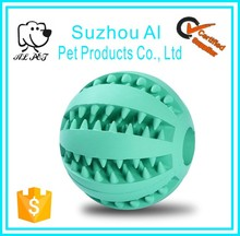 Pet Training Playing Chewing Treat Toy Teeth Cleaning Dog Ball