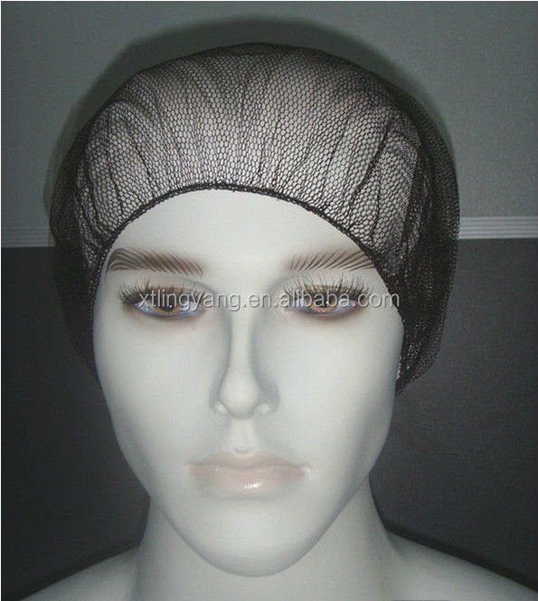 High quality restaurants and hotels single use nylon hair nets