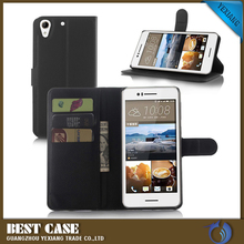 Hot New Product Standable Wallet Leather Case For HTC Desire 728 Flip Cover