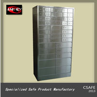 Stainless Steel Safe Deposit Box