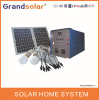 500W 3KW 220/230/240VAC 50/60HZ HOME POWER SOLAR SYSTEM