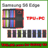 Wholesale Shock Armor Heavy Duty Stand Case For Samsung Galaxy s6 Edge