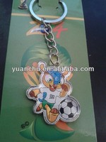2014 World Cup pvc key chain/ soft pvc keying/pvc keychain