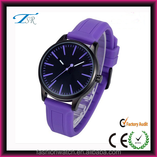 China manufacturer sells silicone band geneva watch with jelly material promotion geneva watch 2014
