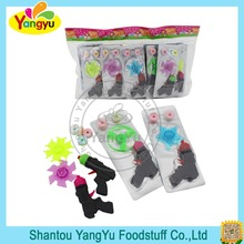 New Design Gyro Shooting Gun Candy Toy