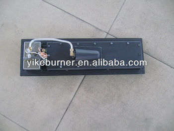 Gas fireplace insert burner