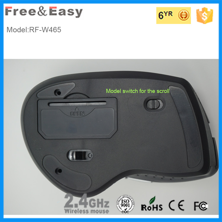 High CPI switch wireless usb optical mouse