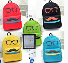 New fashion backpack for 2015 Korean style bright solid color laptop backpack