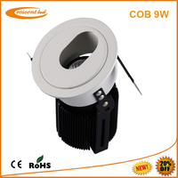 ce&rohs certifications luminous 9w cob led downlight 230v