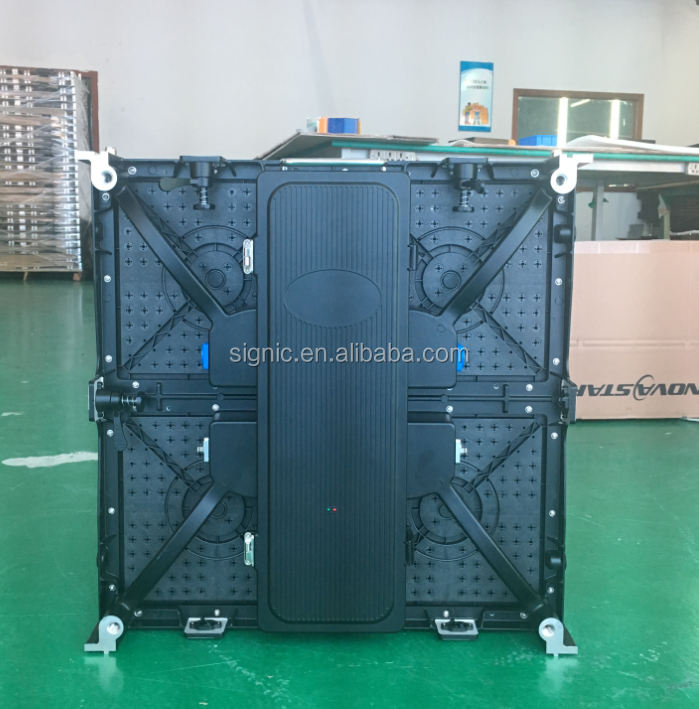 P3.91 500x500mm LED Panel P3 P4 LED Video Wall for Indoor Fixed Installation or Rental