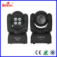 Double sides 4*10W+1*10W RGBW 4in1 LED mini beam moving head light