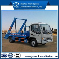 JAC 4x2 Light swing arm garbage truck