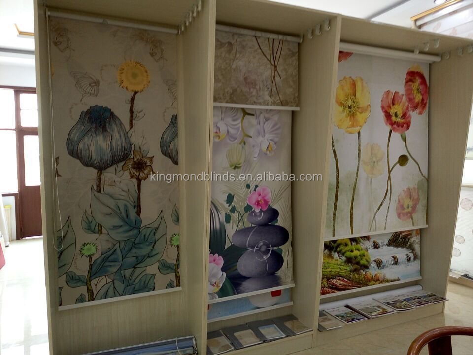 picture roller blinds printed roller blinds 3d wall paper