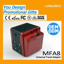 OEM Factory travel agency VIP Customer gift Double USB multi charger for laptop with suitable gift box