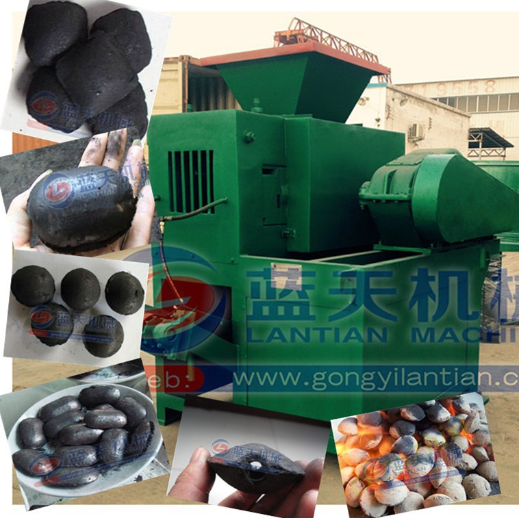 Pillow shape bbq charcoal press briquette machine briquetting machine for coal