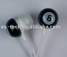 Table Tennis Earphone, funny earbuds, mobile phone headsets