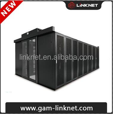 hot and cold aisle containment system server rack