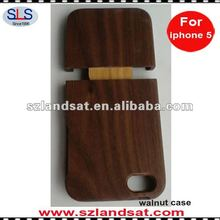 walnut wood case for iphone 5 IPC339