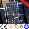 140W solar panel for solar power system solar water pump system