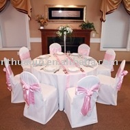 Polyester table cloth, hotel table linen, napkin