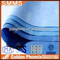 Disposable Nonwoven Medical SMMS fabrics For Surgical bed sheet